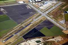 Aerial photo of KCVH (Hollister Municipal Airport)