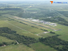 Aerial photo of KXBP (Bridgeport Municipal Airport)