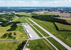 Aerial photo of KIUA (Canandaigua Airport)