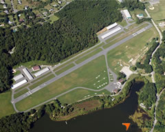 Aerial photo of 1N7 (Blairstown Airport)