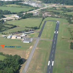 Aerial photo of KATA (Hall-Miller Municipal Airport)