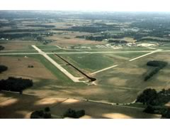 Aerial photo of KSGH (Springfield-Beckley Municipal Airport)