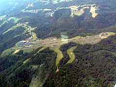 Aerial photo of KMPG (Marshall County Airport)