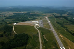Aerial photo of W22 (Upshur County Regional Airport)