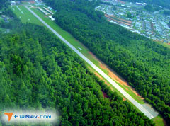 Aerial photo of 8A6 (Wilgrove Air Park)