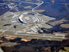 Aerial photo of KHMP (Henry County Airport)