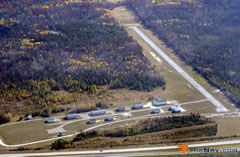 Aerial photo of Y65 (Campbell-Pratt Airport)