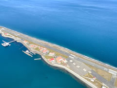 Aerial photo of KNOW (Port Angeles Coast Guard Air Station Airport)