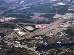 Aerial photo of KBNL (Barnwell Regional Airport)