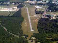 Aerial photo of 2M4 (G V Montgomery Airport)