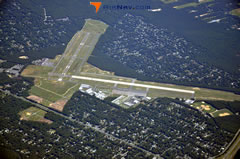 Aerial photo of KHWV (Brookhaven Airport)