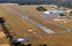 Aerial photo of 24J (Suwannee County Airport)