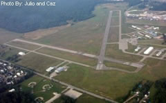 Aerial photo of KIKW (Jack Barstow Airport)