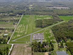 Aerial photo of 62D (Warren Airport)