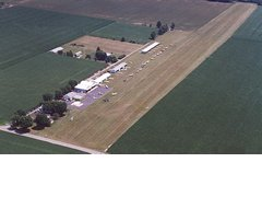 Aerial photo of I54 (Mad River Airpark)