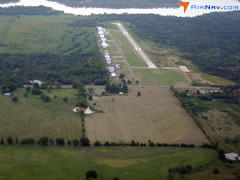 Aerial photo of H68 (Hefner-Easley Airport)