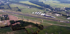 Aerial photo of KGQQ (Galion Municipal Airport)