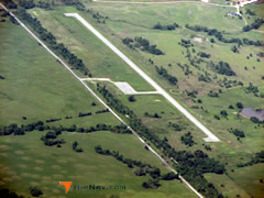 Aerial photo of 6F1 (Talihina Municipal Airport)