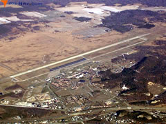 Aerial photo of KVOK (Volk Field Airport)