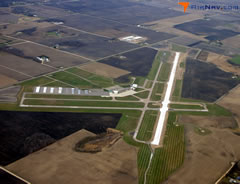 Aerial photo of KMKT (Mankato Regional Airport)