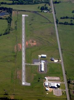 Aerial photo of 4M2 (Booneville Municipal Airport)