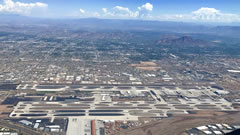Aerial photo of KPHX (Phoenix Sky Harbor International Airport)