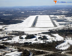 Aerial photo of KBGR (Bangor International Airport)