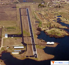 Aerial photo of F41 (Ennis Municipal Airport)