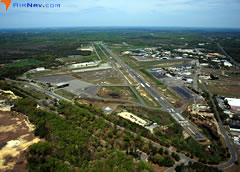 Aerial photo of KBLM (Monmouth Executive Airport)