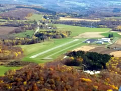 Aerial photo of N38 (Wellsboro Johnston Airport)