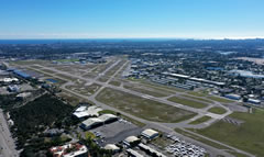 Aerial photo of KFXE (Fort Lauderdale Executive Airport)