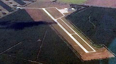 Aerial photo of KIKG (Kleberg County Airport)