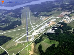 Aerial photo of KGGG (East Texas Regional Airport)