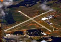 Aerial photo of KAND (Anderson Regional Airport)