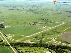 Aerial photo of KHZE (Mercer County Regional Airport)