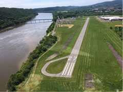 Aerial photo of N13 (Bloomsburg Municipal Airport)
