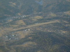 Aerial photo of F62 (Hayfork Airport)