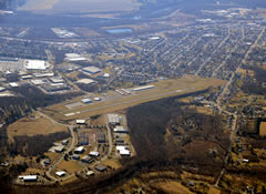 Aerial photo of N47 (Pottstown Municipal Airport)