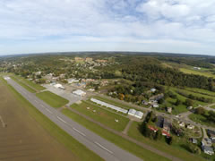 Aerial photo of KPHD (Harry Clever Field Airport)