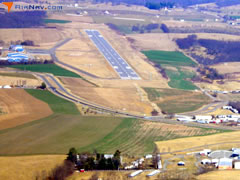 Aerial photo of KPSK (New River Valley Airport)