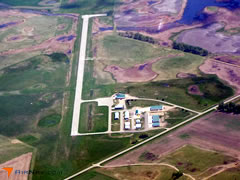 Aerial photo of 8D7 (Clark County Airport)