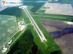 Aerial photo of 98D (Onida Municipal Airport)