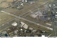 Aerial photo of KABE (Lehigh Valley International Airport)