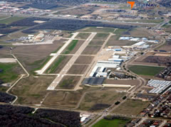Aerial photo of KGKY (Arlington Municipal Airport)