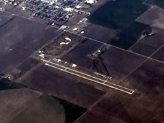 Aerial photo of KJHN (Stanton County Municipal Airport)