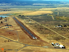 Aerial photo of A24 (California Pines Airport)