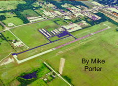 Aerial photo of F00 (Jones Field Airport)
