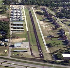Aerial photo of KWEA (Parker County Airport)