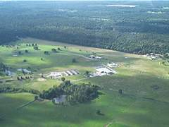 Aerial photo of 16TE (Holly Lake Ranch Airport)
