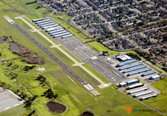 Aerial photo of O69 (Petaluma Municipal Airport)